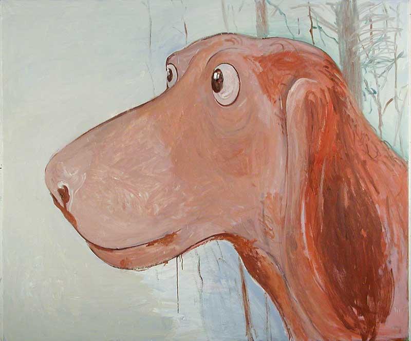 Bella, Öl auf Leinwand, 160 x 200 cm
