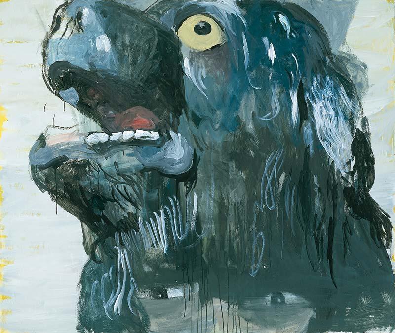 Jagger, Öl auf Leinwand, 160 x 190 cm