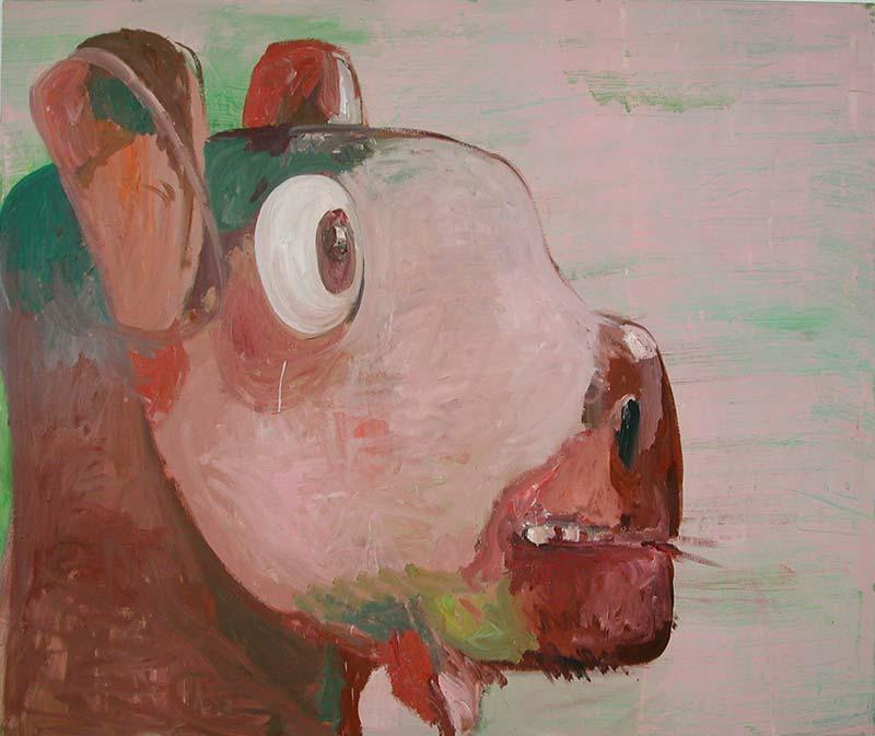 Limmat, Öl auf Leinwand, 160 x 190 cm