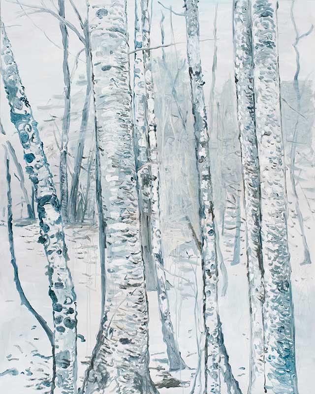 O.F.1, Öl auf Leinwand, 200 x 160 cm