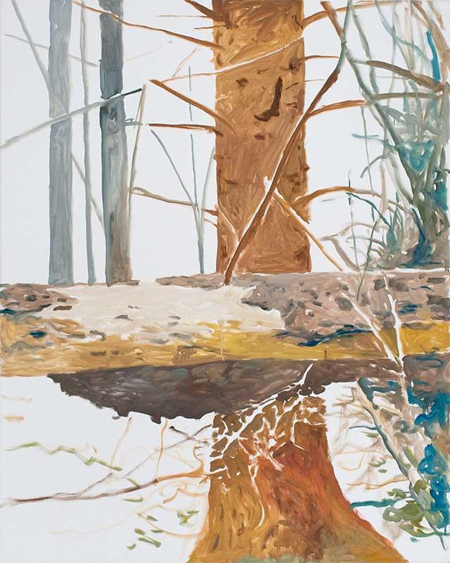 O.F.2, Öl auf Leinwand, 150 x 120 cm