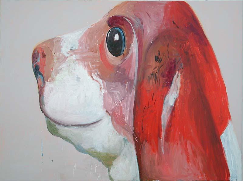 Sing, Öl auf Leinwand, 150 x 200 cm