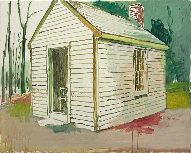 Cabin 1, Öl auf Leinwand, 80 x 100 cm