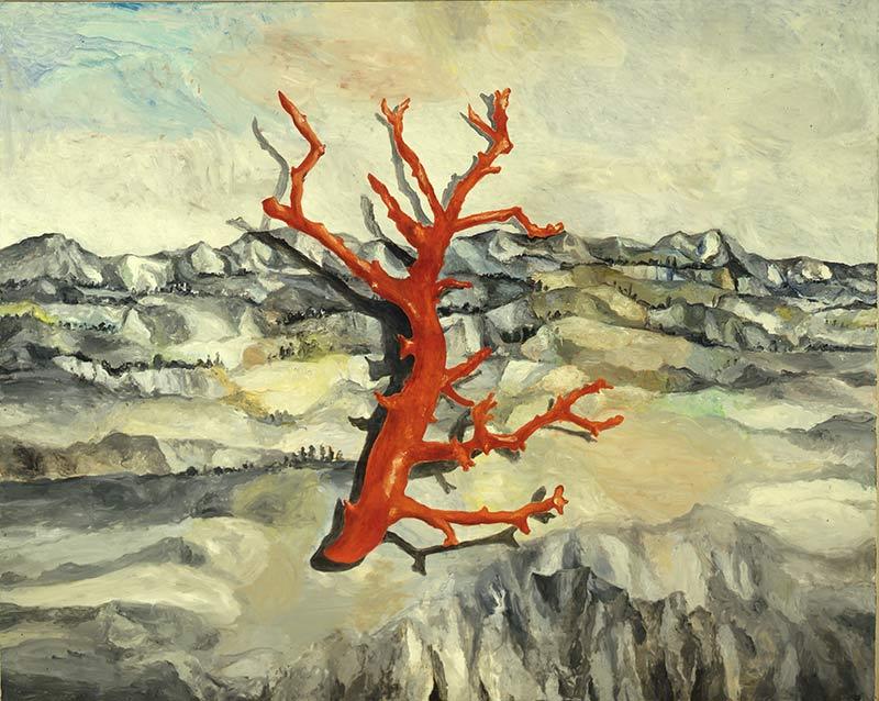 Suchbild / Hidden Picture, Öl auf Leinwand, 200 x 250 cm