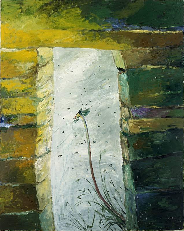 Das Tor / The Gate, Öl auf Leinwand, 240 x 190 cm