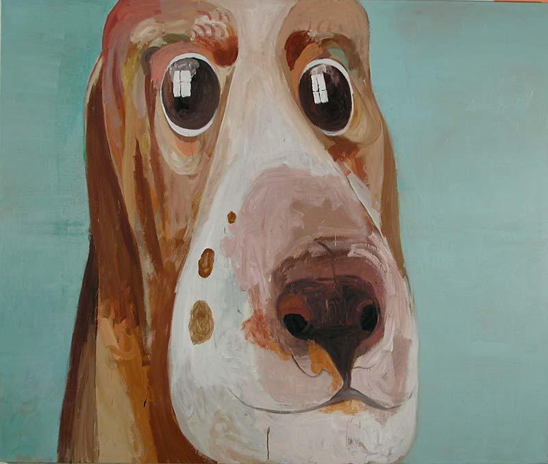 Van Gelder, Öl auf Leinwand, 160 x 190 cm