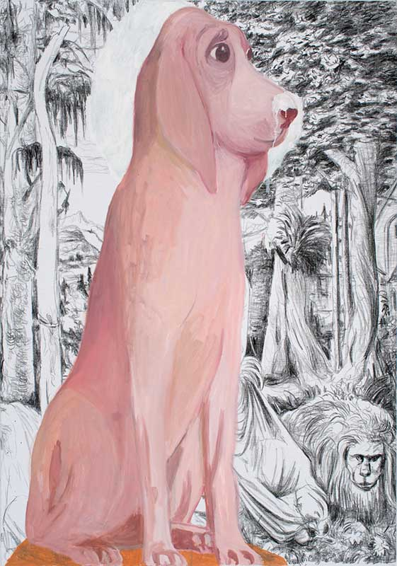 Altdorfer, Öl auf Leinwand, 200 x 140 cm