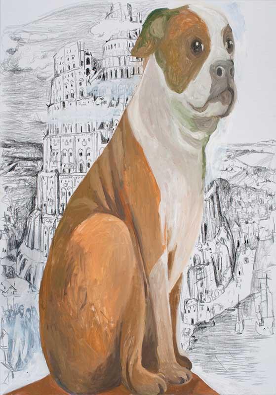 Bruegel, Öl auf Leinwand, 200 x 140 cm