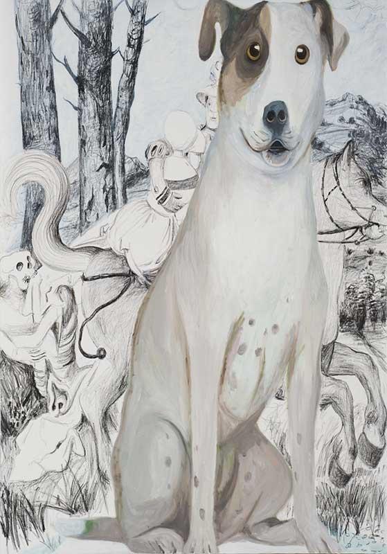 Hans Baldung, Öl auf Leinwand, 200 x 140 cm