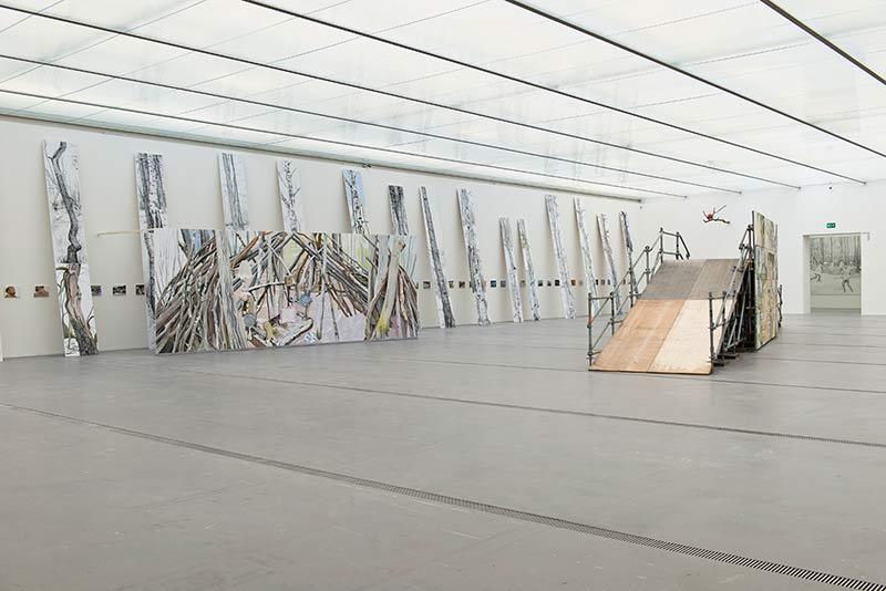 Möblierung der Wildnis, Lentos Kunstmuseum Linz, 2014, 1