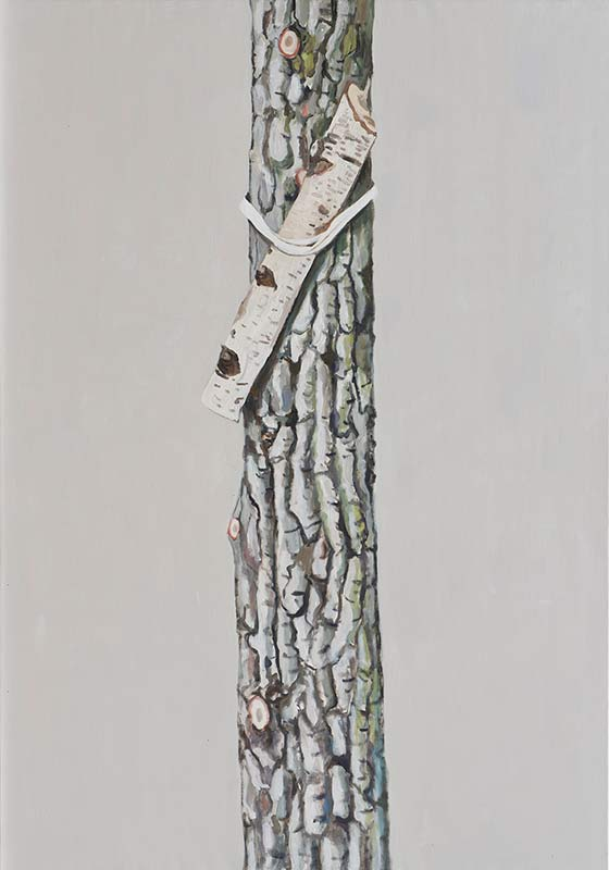 Öl auf Leinwand, 200 x 140 cm