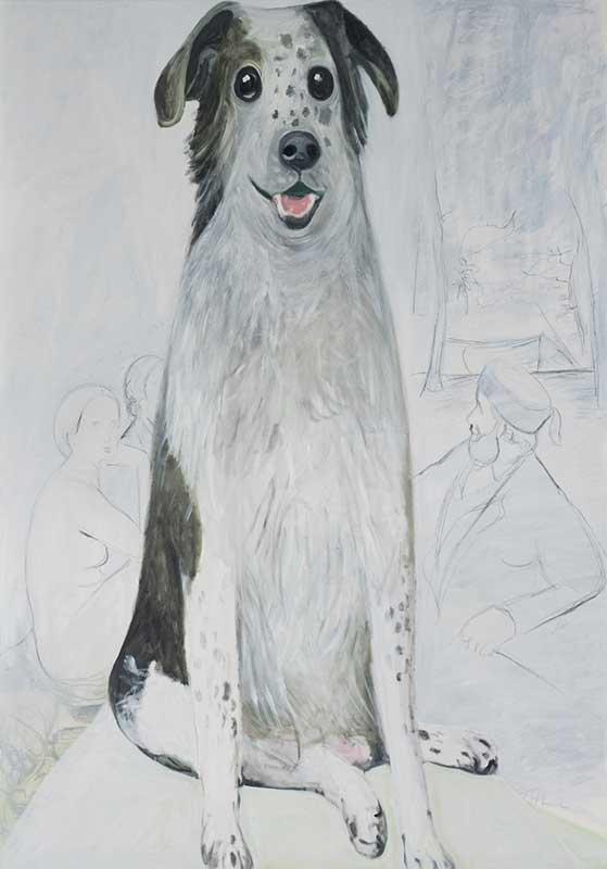 Manet, Öl auf Leinwand, 200 x 140 cm