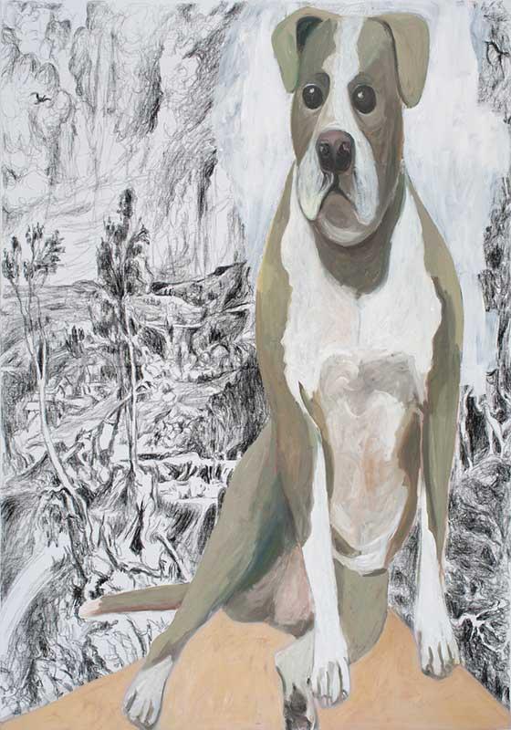 Rubens, Öl auf Leinwand, 200 x 140 cm