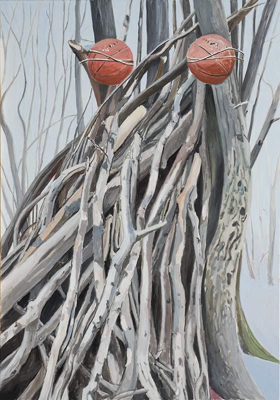 Eye Picture, Öl auf Leinwand, 200 x 140 cm