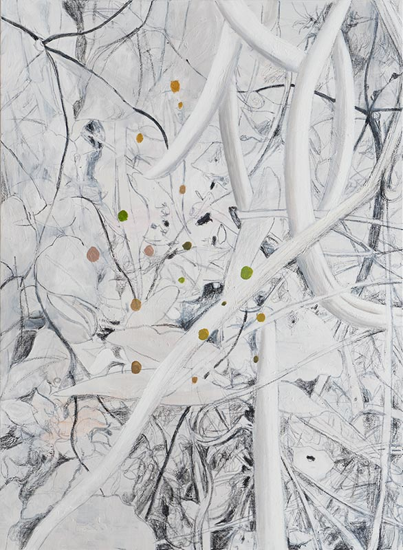 Garten 2 / Garden 2, Öl auf Leinwand, 150 x 110 cm