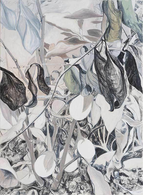Garten 3 / Garden 3, Öl auf Leinwand, 150 x 110 cm