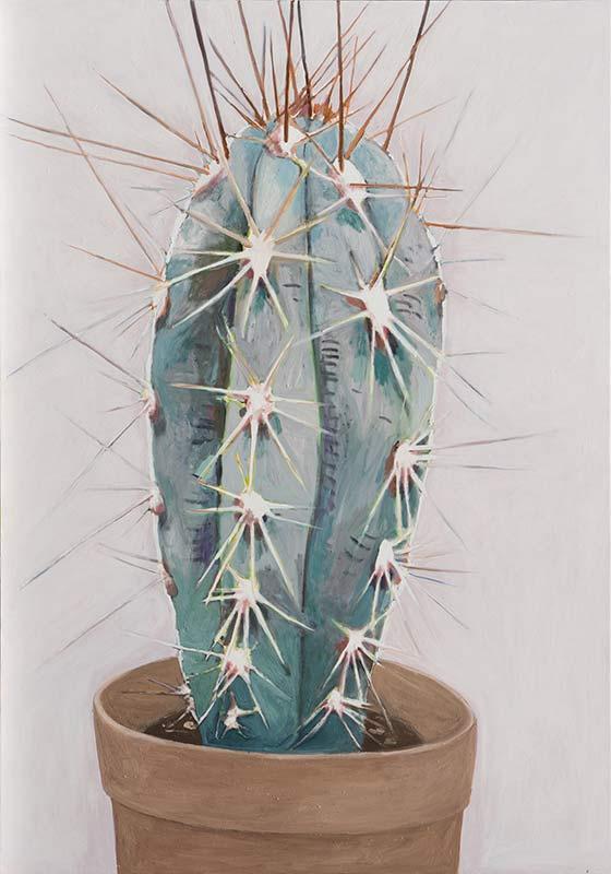 Cactus, Öl auf Leinwand, 200 x 140 cm