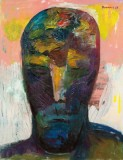 Kummerkopf, 1983, Öl auf Leinwand, 195 x 150 cm