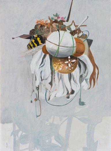 Bums 2017, Öl auf Leinwand, 150 x 110 cm