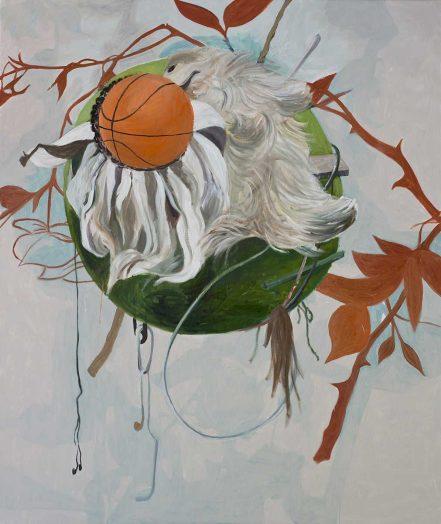 Slam Dunk 1, 2017 Öl auf Leinwand, 190 x 160 cm