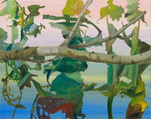 8 / 9 Alois Mosbacher, Falsche Erwartung, Öl auf Leinwand, 95 x 120 cm, 2018