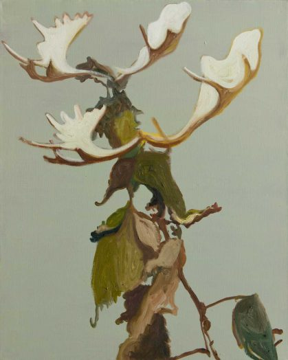 Alois Mosbacher, Fiktiver Zustand, Öl auf Leinwand, 100 x 80 cm, 2018
