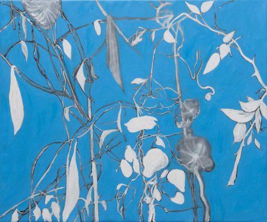 Alois Mosbacher, Kaltes Staunen, Öl auf Leinwand, 100 x 120 cm, 2018