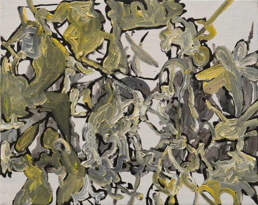 2 / 9 Alois Mosbacher, Künstliche Ahnung, Öl auf Leinwand, 40 x 50 cm, 2018
