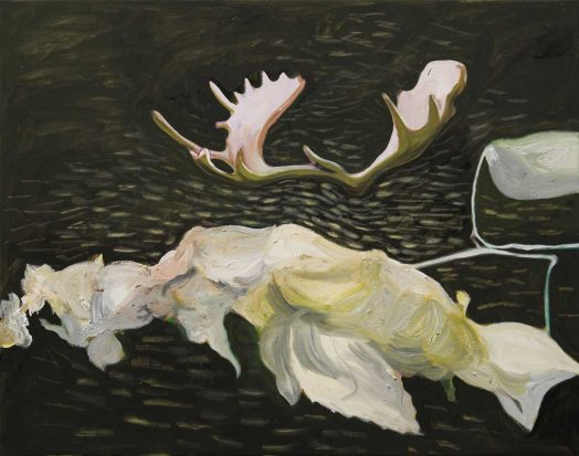 Alois Mosbacher, Luftiger Traum, Öl auf Leinwand, 95 x 120 cm, 2018