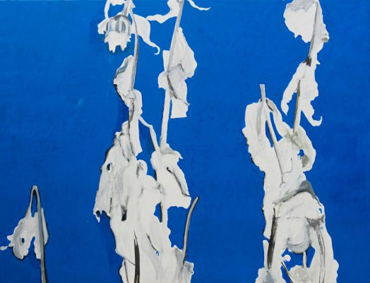 Alois Mosbacher, Solides Verhältnis, Öl auf Leinwand, 130 x 170 cm, 2018