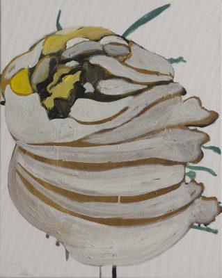 Bic, 2019, Öl auf Leinwand, 50 x 40 cm
