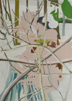 Crossing, 2019, Öl auf Leinwand, 140 x 100 cm
