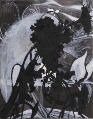 Helianthus, 2019, Öl auf Leinwand, 95 x 75 cm