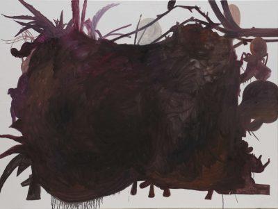 Referenz II, 2019, Öl auf Leinwand, 180 x 120 cm
