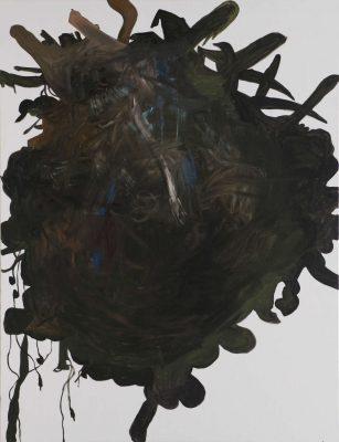 Reverenz IIII, 2019, Öl auf Leinwand, 180 x 120 cm