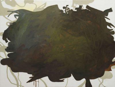 Reverenz III, 2019, Öl auf Leinwand, 180 x 120 cm