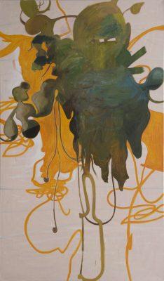 Spirit, 2019, Öl auf Leinwand, 240 x 140 cm