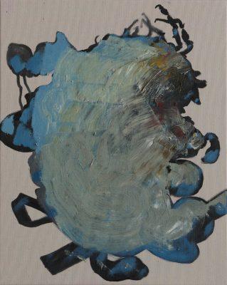 Zull, 2019, Öl auf Leinwand, 50 x 40 cm